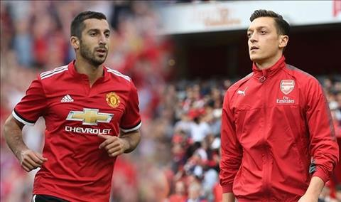 Huyen thoai Arsenal Mkhitaryan co van de y het Ozil hinh anh