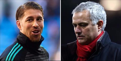 Trung ve Sergio Ramos khong an tuong voi Mourinho hinh anh 2