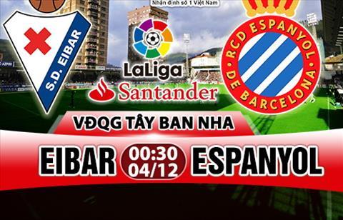 Nhan dinh Eibar vs Espanyol 00h30 ngay 412 (La Liga 201718) hinh anh