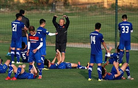 HLV Park Hang Seo gat Tuan Anh, Minh Vuong khoi danh sach U23 Viet Nam hinh anh