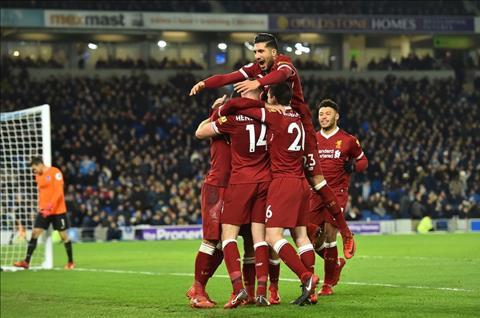 Brighton 1-5 Liverpool The Klopp thi uy Premier League hinh anh 2