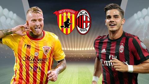 Nhan dinh Benevento vs AC Milan 18h30 ngay 312 (Serie A 201718) hinh anh