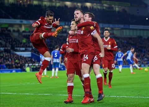 Brighton 1-5 Liverpool