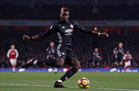 Pogba thi dau an tuong truoc Arsenal
