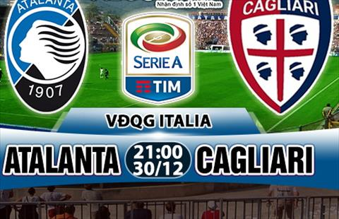 Nhan dinh Atalanta vs Cagliari 21h00 ngay 3012 (Serie A 201718) hinh anh