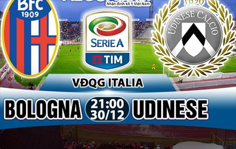Nhan dinh Bologna vs Udinese 21h00 ngay 3012 (Serie A 201718) hinh anh