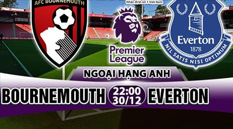 Nhan dinh Bournemouth vs Everton 22h00 ngay 3012 (Premier League 201718) hinh anh