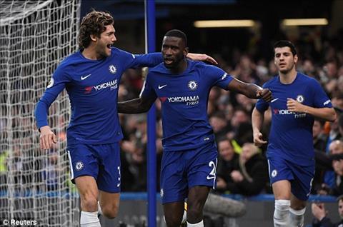Sau 23 phut Chelsea da dan truoc 3-0