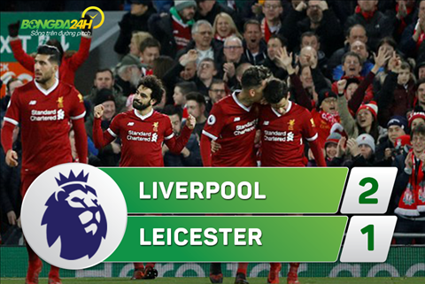 Tong hop Liverpool 2-1 Leicester (Vong 21 Premier League 201718) hinh anh