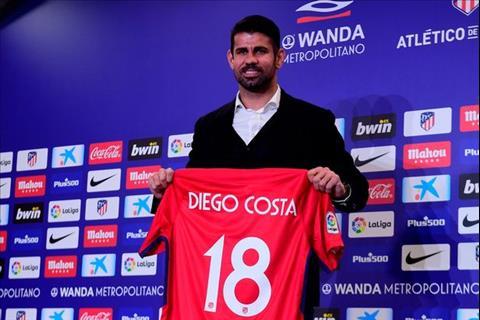Diego Costa da chinh thuc tro ve Atletico Madrid