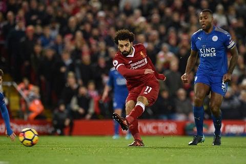 Salah vs Leicester