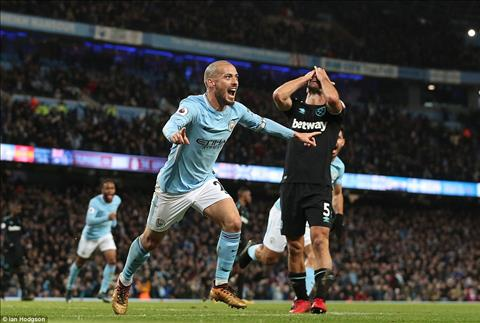 Nhung thong ke khong the bo qua tran Man City 2-1 West Ham hinh anh
