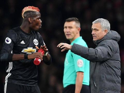 Jose Mourinho gap kho khi thieu Pogba o tran derby Manchester.