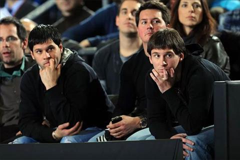 Anh trai Messi hanh tung nhu giang ho hinh anh