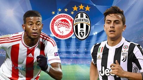 Nhan dinh Olympiakos vs Juventus 02h45 ngay 612 (Champions League 201718) hinh anh