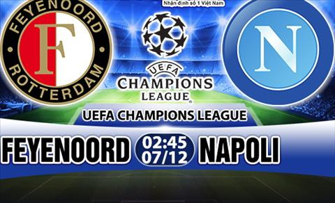Nhan dinh Feyenoord vs Napoli 02h45 ngay 712 (Champions League 201718) hinh anh