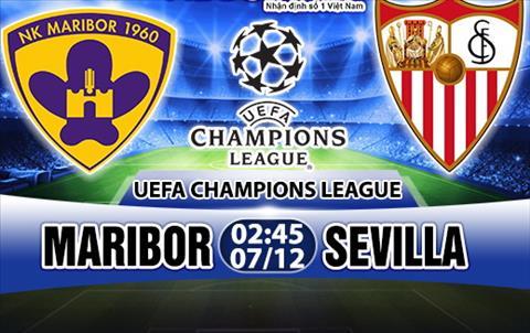 Nhan dinh Maribor vs Sevilla 2h45 ngay 712 (Champions League 201718) hinh anh