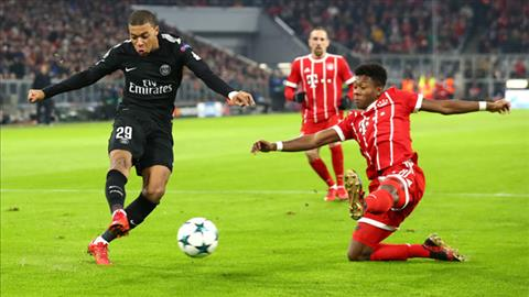 Pha luoi Bayern, Mbappe thiet lap cot moc ky luc o Champions League hinh anh