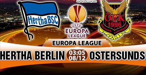 Nhạn dịnh Hertha Berlin vs Ostersunds 03h05 ngày 812 (Europa League 201718) hinh anh