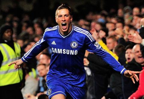 Torres khi con khoac ao Chelsea