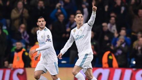 Cristiano Ronaldo lap ky luc tai Champions League.