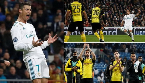 Het Champions League, Cristiano Ronaldo lam gi cho den thang Hai hinh anh