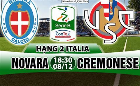 Nhan dinh Novara vs Cremonese 18h30 ngay 812 (Hang 2 Italia 201718) hinh anh