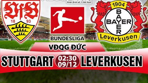 Nhan dinh Stuttgart vs Leverkusen 02h30 ngay 0912 (Bundesliga 201718) hinh anh