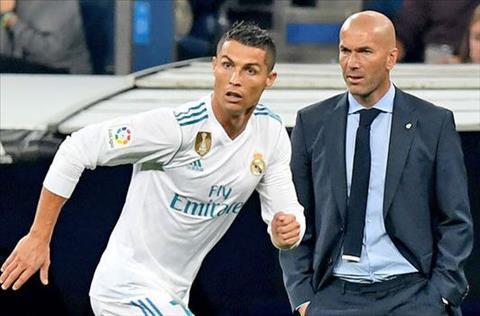 Zidane dong y voi nhan xet gay tranh cai ve Ronaldo hinh anh