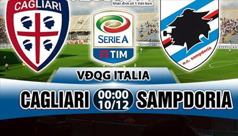 Nhan dinh Cagliari vs Sampdoria 00h00 ngay 1012 (Serie A 201718) hinh anh