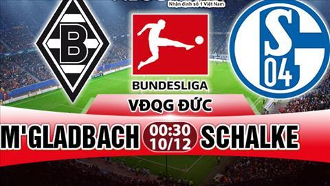 Nhan dinh Gladbach vs Schalke 00h30 ngay 1012 (Bundesliga 201718) hinh anh