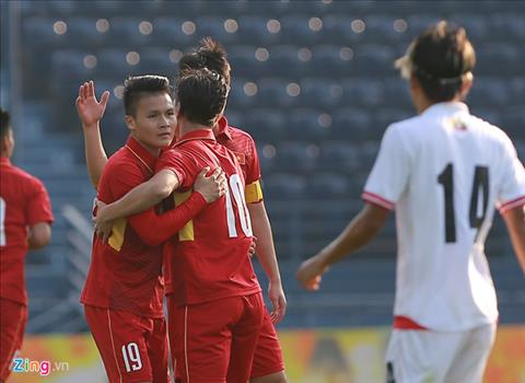 Tong hop U23 Viet Nam 4-0 U23 Myanmar (Giao huu M150 Cup 2017) hinh anh