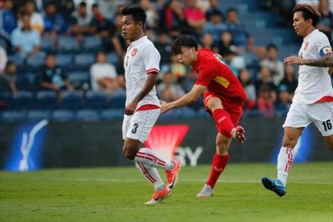 Cong Phuong nhan danh hieu sau tran thang cua U23 Viet Nam hinh anh
