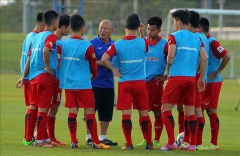 Day! Doi hinh ra san cua U23 Viet Nam dau U23 Myanmar hinh anh