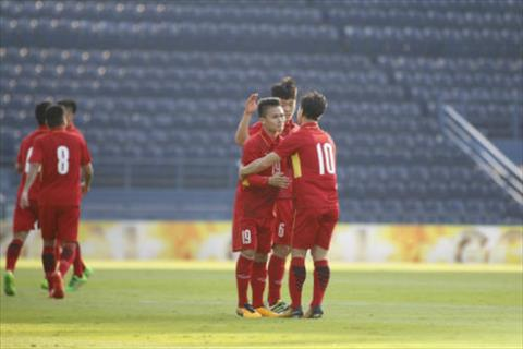 Tong hop: U23 Viet Nam 4-0 U23 Myanmar (Giao huu M150 Cup 2017)