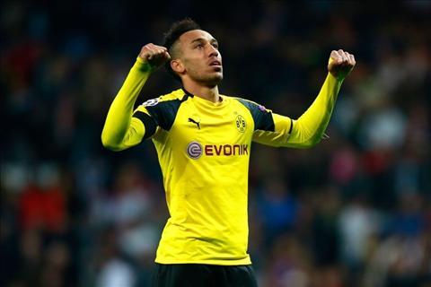 Dortmund sa sut, Aubameyang tim duong thao chay hinh anh