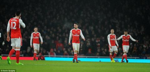 Thua Watford, Arsenal con mat tien ve Aaron Ramsey hinh anh