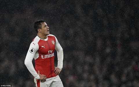 Du am Arsenal 1-2 Watford Hay bo troi buoc cho Alexis Sanchez hinh anh