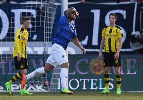 Tong hop Darmstadt 2-1 Dortmund (Vong 20 Bundesliga 201617) hinh anh