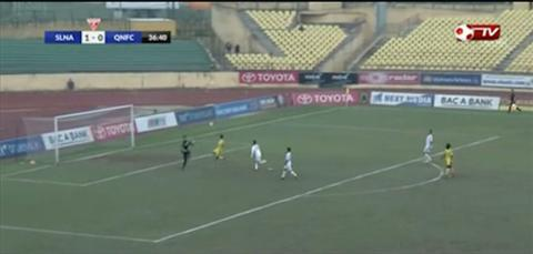 Tong hop SLNA 2-4 Quang Nam (Vong 5 V-League 2017) hinh anh