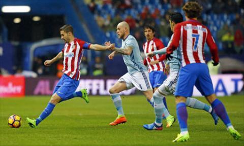 Tong hop Atletico Madrid 3-2 Celta Vigo (Vong 22 La Liga 201617) hinh anh