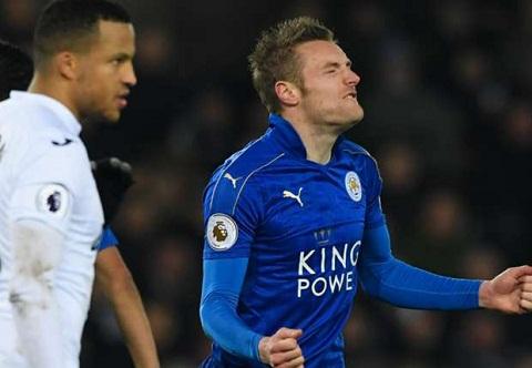 Swansea 2-0 Leicester Xuong hang that roi Leicester hinh anh 2