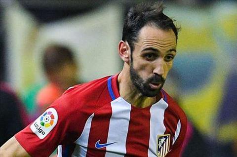 Hau ve Juanfran lo 3 tran dau cua Atletico Madrid hinh anh