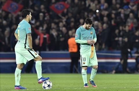 Barca thua dam PSG Ngay den toi cua MSN hinh anh 3