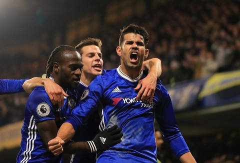 Chi can vo dich Premier League, Chelsea se thanh ly ngay tien dao Diego Costa hinh anh