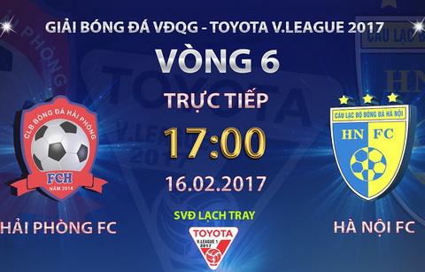 Hai Phong vs Ha Noi