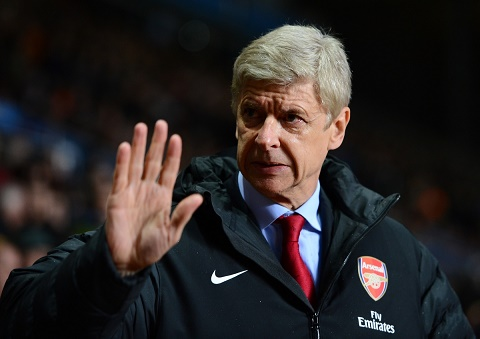 HLV Wenger dich than len tieng ve tuong lai hinh anh