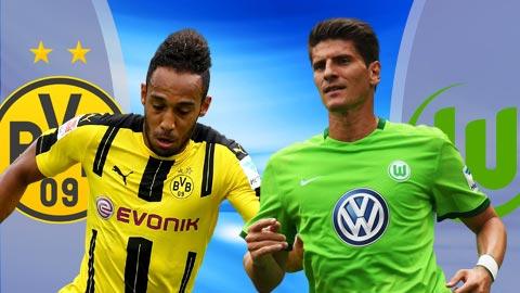 Nhan dinh Dortmund vs Wolfsburg 21h30 ngay 182 (Bundesliga 201617) hinh anh
