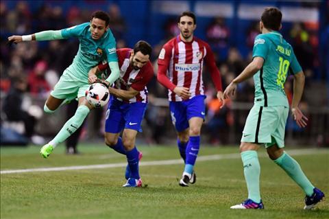Atletico 1-2 Barca Sieu pham cua Messi la khac biet hinh anh