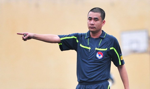 Trong tai Nguyen Trong Thu mong muon VFF giam an cho cau thu Long An hinh anh